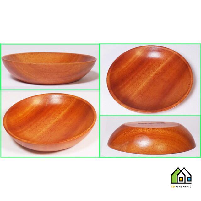 Chén trẹt nhỏ bằng gỗ xà cừ