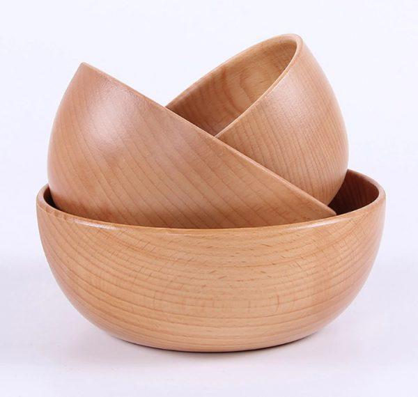 chén gỗ nhật