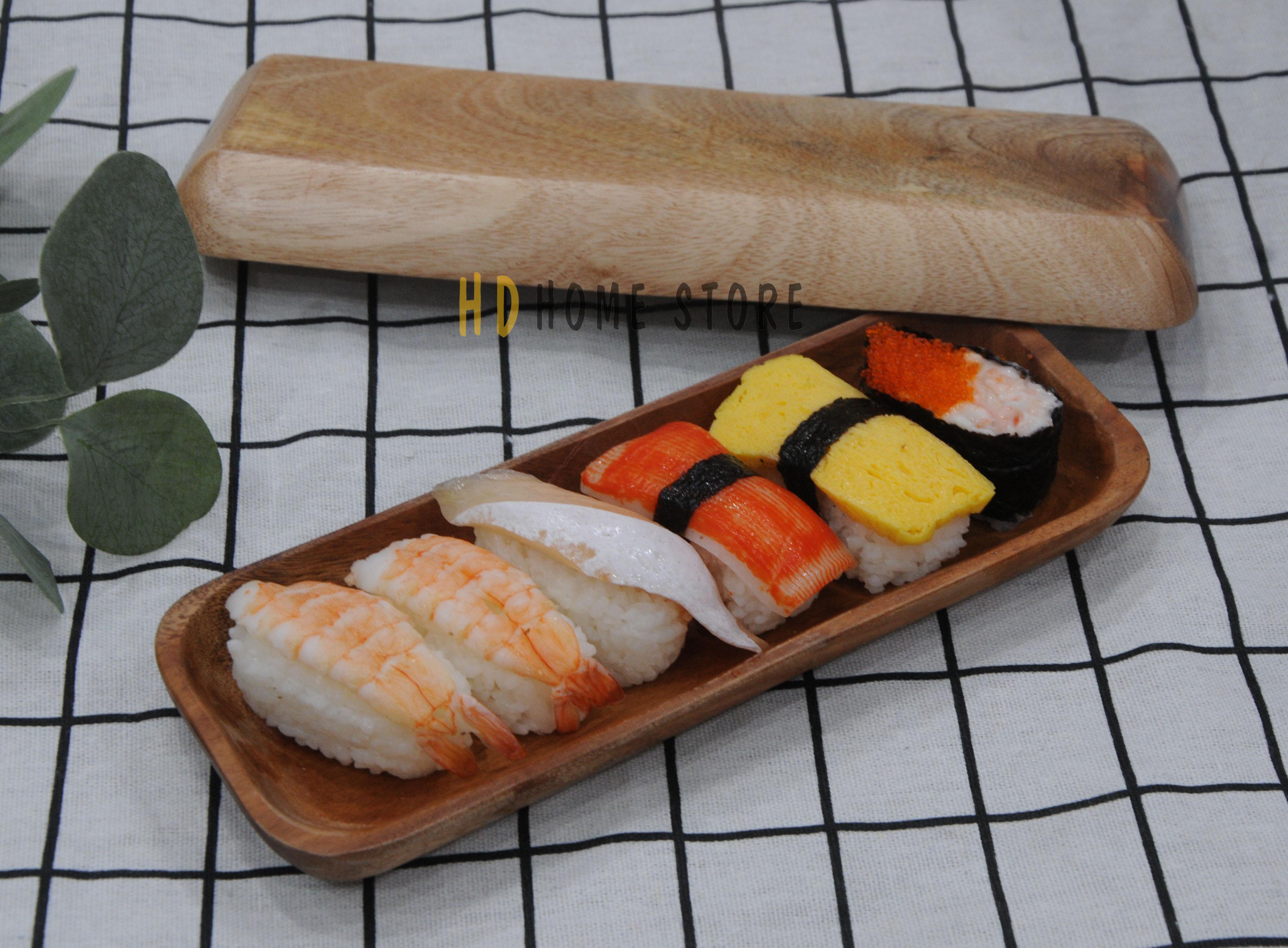 Dĩa dài đựng sushi loại nhỏ