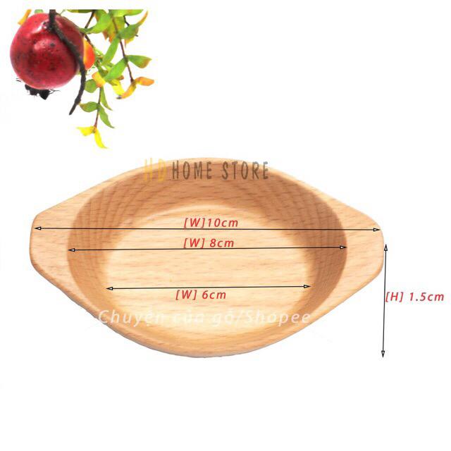 Set đồ gỗ đựng salad
