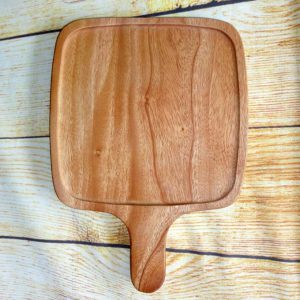 Khay gỗ có tay cầm 32x23cm