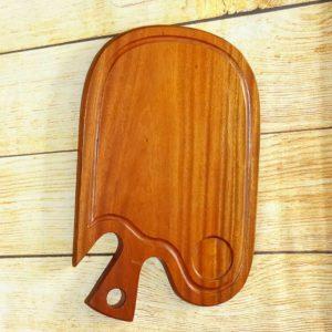 Khay gỗ hình cá 35x22cm