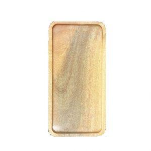 Khay gỗ hình chữ nhật 26x13cm