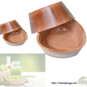 Chén gỗ dùng trong spa