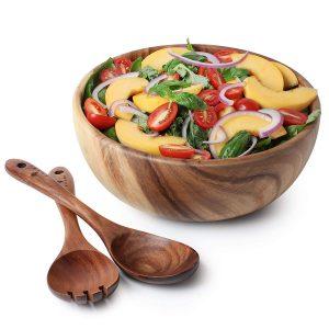 Trang trí món ăn thêm đẹp mắt với các loại đồ dùng bằng gỗ
