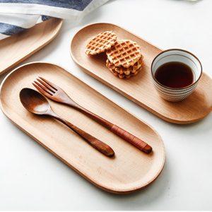 Combo Muỗng và nĩa xà cừ 17cm