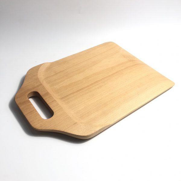 Thớt có tay cầm gỗ beech 33x23cm