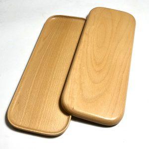 Khay chữ nhật gỗ beech 40x15cm