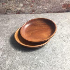 Đĩa trẹt gỗ xà cừ 16cm