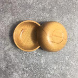 Chén tròn gỗ beech 11.5x4cm