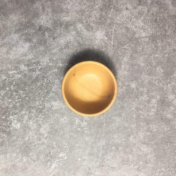 Chén tròn gỗ beech 9.5x4cm