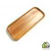 Khay chữ nhật gỗ xà cừ 23x9.5cm